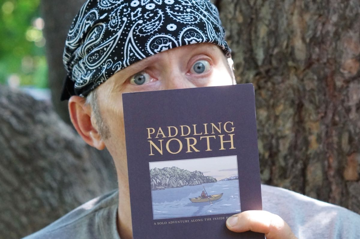 "Paddling North by Audrey Sutherland inspired me to ""do it now"""