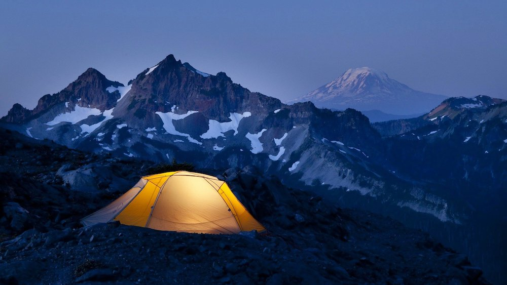 tent mountains